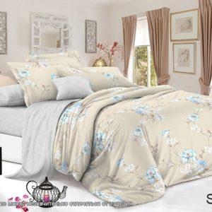 Комплект постельного белья с компаньоном S357  ПОСТЕЛЬНОЕ БЕЛЬЕ ТМ TAG > Семейные > Сатин люкс ТМ TAG