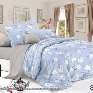 Комплект постельного белья с компаньоном S358  ПОСТЕЛЬНОЕ БЕЛЬЕ ТМ TAG > Семейные > Сатин люкс ТМ TAG