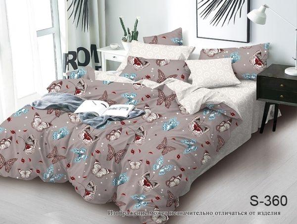 Комплект постельного белья с компаньоном S360  ПОСТЕЛЬНОЕ БЕЛЬЕ ТМ TAG > 2-спальные > Сатин люкс ТМ TAG