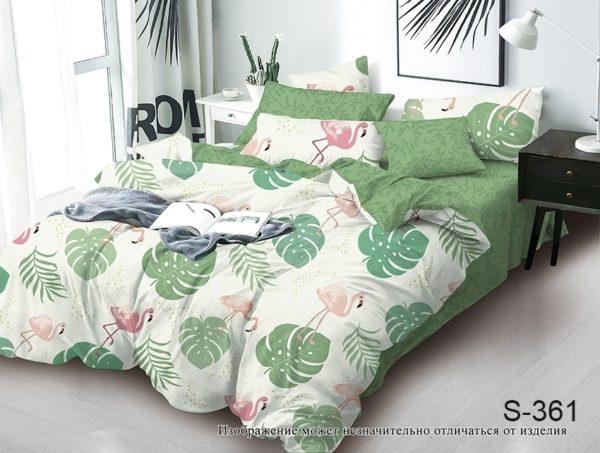 Комплект постельного белья с компаньоном S361  ПОСТЕЛЬНОЕ БЕЛЬЕ ТМ TAG > 2-спальные > Сатин люкс ТМ TAG