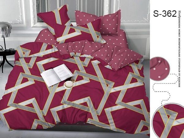 Комплект постельного белья с компаньоном S362  ПОСТЕЛЬНОЕ БЕЛЬЕ ТМ TAG > Семейные > Сатин люкс ТМ TAG