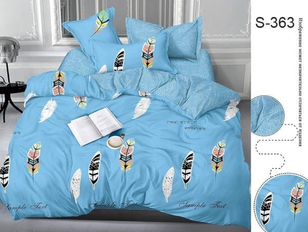 Комплект постельного белья с компаньоном S363  ПОСТЕЛЬНОЕ БЕЛЬЕ ТМ TAG > 2-спальные > Сатин люкс ТМ TAG