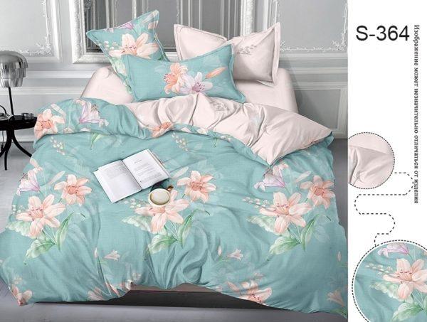 Комплект постельного белья с компаньоном S364  ПОСТЕЛЬНОЕ БЕЛЬЕ ТМ TAG > 2-спальные > Сатин люкс ТМ TAG