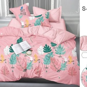 Комплект постельного белья с компаньоном S365  ПОСТЕЛЬНОЕ БЕЛЬЕ ТМ TAG > Семейные > Сатин люкс ТМ TAG
