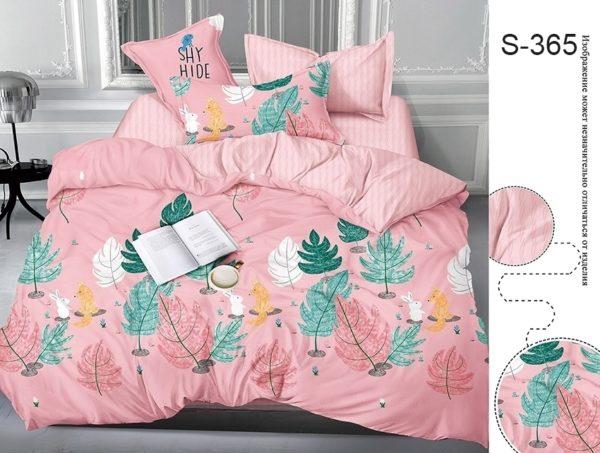 Комплект постельного белья с компаньоном S365  ПОСТЕЛЬНОЕ БЕЛЬЕ ТМ TAG > 2-спальные > Сатин люкс ТМ TAG