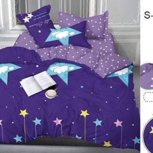 Комплект постельного белья с компаньоном S366  ПОСТЕЛЬНОЕ БЕЛЬЕ ТМ TAG > Семейные > Сатин люкс ТМ TAG