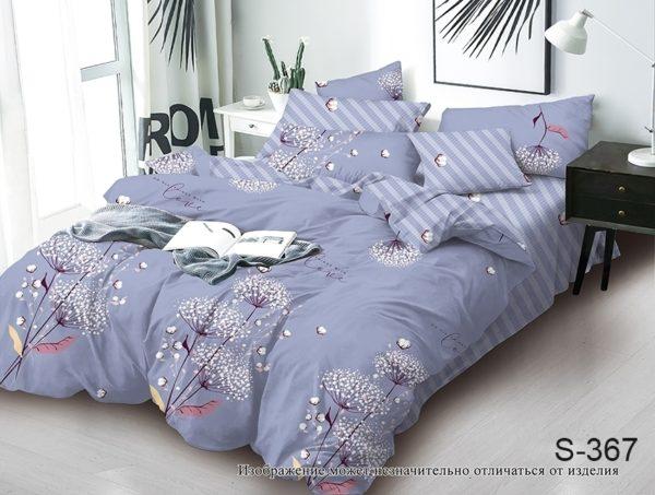 Комплект постельного белья с компаньоном S367  ПОСТЕЛЬНОЕ БЕЛЬЕ ТМ TAG > Семейные > Сатин люкс ТМ TAG