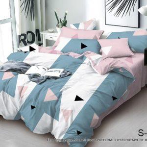 Комплект постельного белья с компаньоном S368  ПОСТЕЛЬНОЕ БЕЛЬЕ ТМ TAG > 2-спальные > Сатин люкс ТМ TAG