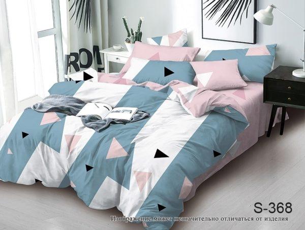 Комплект постельного белья с компаньоном S368  ПОСТЕЛЬНОЕ БЕЛЬЕ ТМ TAG > Семейные > Сатин люкс ТМ TAG
