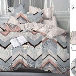 Комплект постельного белья с компаньоном S370  ПОСТЕЛЬНОЕ БЕЛЬЕ ТМ TAG > Семейные > Сатин люкс ТМ TAG