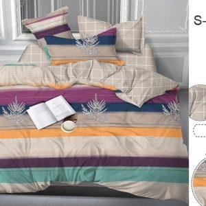 Комплект постельного белья с компаньоном S371  ПОСТЕЛЬНОЕ БЕЛЬЕ ТМ TAG > Семейные > Сатин люкс ТМ TAG