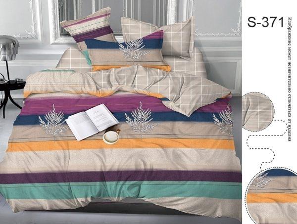 Комплект постельного белья с компаньоном S371  ПОСТЕЛЬНОЕ БЕЛЬЕ ТМ TAG > 2-спальные > Сатин люкс ТМ TAG