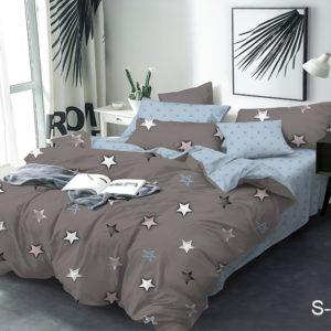 Комплект постельного белья с компаньоном S378  ПОСТЕЛЬНОЕ БЕЛЬЕ ТМ TAG > Семейные > Сатин люкс ТМ TAG