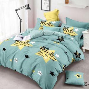 Комплект постельного белья с компаньоном S380  ПОСТЕЛЬНОЕ БЕЛЬЕ ТМ TAG > 2-спальные > Сатин люкс ТМ TAG