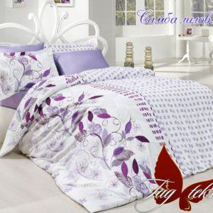 Комплект постельного белья Самба лилов.  ПОСТЕЛЬНОЕ БЕЛЬЕ ТМ TAG > Семейные > Ренфорс