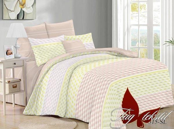 Комплект постельного белья с компаньоном SL315  ПОСТЕЛЬНОЕ БЕЛЬЕ ТМ TAG > 2-спальные > Поплин