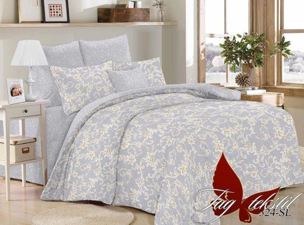 Комплект постельного белья с компаньоном SL324  ПОСТЕЛЬНОЕ БЕЛЬЕ ТМ TAG > 1.5-спальные > Поплин