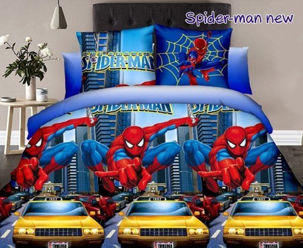 Комплект постельного белья Spider-man new  ПОСТЕЛЬНОЕ БЕЛЬЕ И ТОВАРЫ ДЛЯ ДЕТЕЙ > 1.5-спальные 160х220