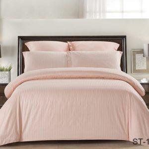 Комплект постельного белья ST-1002  ПОСТЕЛЬНОЕ БЕЛЬЕ ТМ TAG > 2-спальные > Страйп-сатин