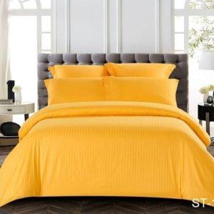 Комплект постельного белья ST-1004  ПОСТЕЛЬНОЕ БЕЛЬЕ ТМ TAG > Семейные > Страйп-сатин