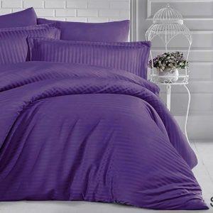 Комплект постельного белья ST-1011  ПОСТЕЛЬНОЕ БЕЛЬЕ ТМ TAG > 2-спальные > Страйп-сатин