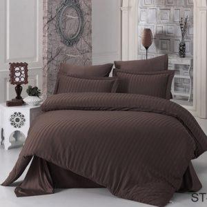 Комплект постельного белья ST-1013  ПОСТЕЛЬНОЕ БЕЛЬЕ ТМ TAG > Семейные > Страйп-сатин
