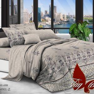 Комплект постельного белья с компаньоном TM-4901Z  ПОСТЕЛЬНОЕ БЕЛЬЕ ТМ TAG > Семейные > Поплин