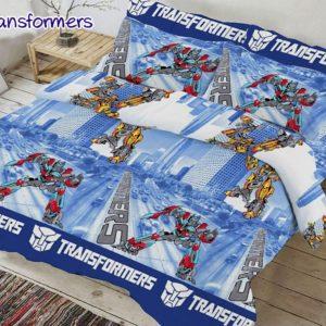 Комплект постельного белья Transformers  ПОСТЕЛЬНОЕ БЕЛЬЕ И ТОВАРЫ ДЛЯ ДЕТЕЙ > 1.5-спальные 160х220