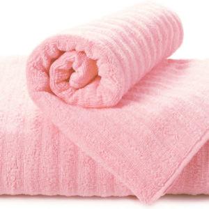 Полотенце махровое Volna розовое  Полотенца > 70*140 от 1 ед