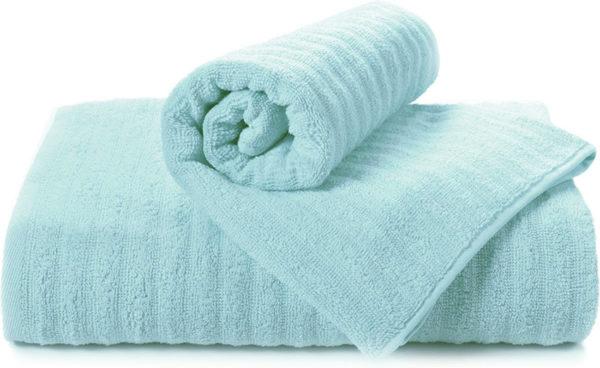 Полотенце махровое Volna голубое  Полотенца > 70*140 от 1 ед