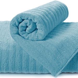 Полотенце махровое Volna синее  Полотенца > 70*140 от 1 ед