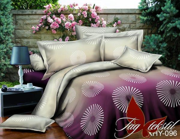 Комплект постельного белья XHY096  ПОСТЕЛЬНОЕ БЕЛЬЕ ТМ TAG > Евро > Поликоттон 3D
