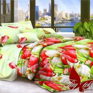 Комплект постельного белья XHY1236  ПОСТЕЛЬНОЕ БЕЛЬЕ ТМ TAG > Евро > Поликоттон 3D