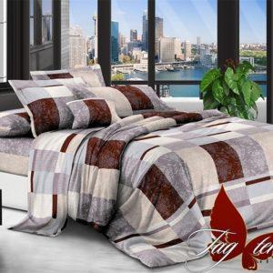 Комплект постельного белья XHY1320  ПОСТЕЛЬНОЕ БЕЛЬЕ ТМ TAG > Евро > Поликоттон 3D