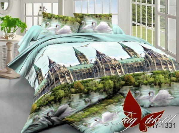 Комплект постельного белья XHY1331  ПОСТЕЛЬНОЕ БЕЛЬЕ ТМ TAG > 2-спальные > Поликоттон 3D