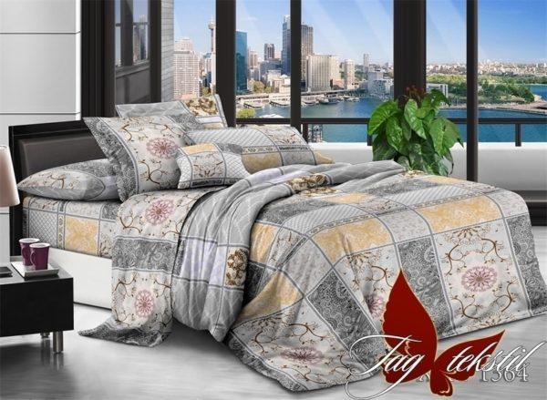 Комплект постельного белья XHY1364  ПОСТЕЛЬНОЕ БЕЛЬЕ ТМ TAG > Семейные > Поликоттон 3D