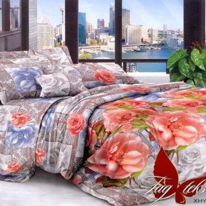 Комплект постельного белья XHY1517  ПОСТЕЛЬНОЕ БЕЛЬЕ ТМ TAG > Семейные > Поликоттон 3D