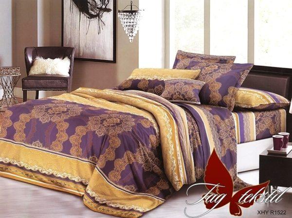 Комплект постельного белья XHY1522  ПОСТЕЛЬНОЕ БЕЛЬЕ ТМ TAG > Семейные > Поликоттон 3D