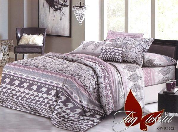 Комплект постельного белья XHY1602  ПОСТЕЛЬНОЕ БЕЛЬЕ ТМ TAG > Семейные > Поликоттон 3D