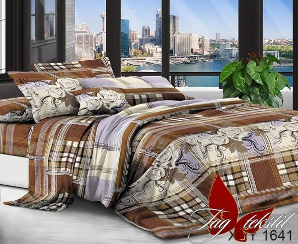 Комплект постельного белья XHY1641  ПОСТЕЛЬНОЕ БЕЛЬЕ ТМ TAG > Семейные > Поликоттон 3D
