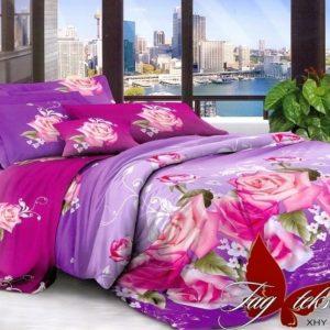 Комплект постельного белья XHY1668  ПОСТЕЛЬНОЕ БЕЛЬЕ ТМ TAG > Евро > Поликоттон 3D