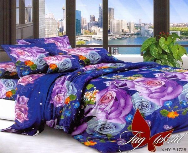 Комплект постельного белья XHY1728  ПОСТЕЛЬНОЕ БЕЛЬЕ ТМ TAG > Семейные > Поликоттон 3D