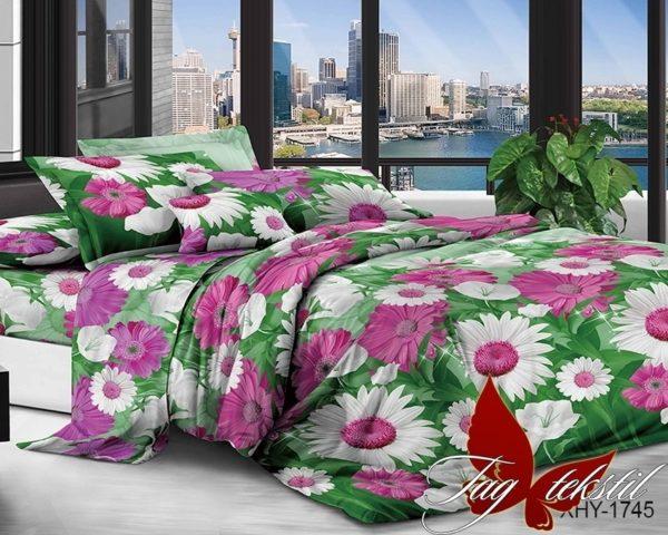 Комплект постельного белья XHY1745  ПОСТЕЛЬНОЕ БЕЛЬЕ ТМ TAG > Семейные > Поликоттон 3D