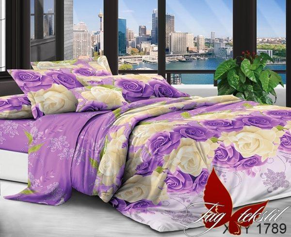 Комплект постельного белья XHY1789  ПОСТЕЛЬНОЕ БЕЛЬЕ ТМ TAG > Семейные > Поликоттон 3D