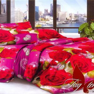 Комплект постельного белья XHY1832  ПОСТЕЛЬНОЕ БЕЛЬЕ ТМ TAG > Семейные > Поликоттон 3D