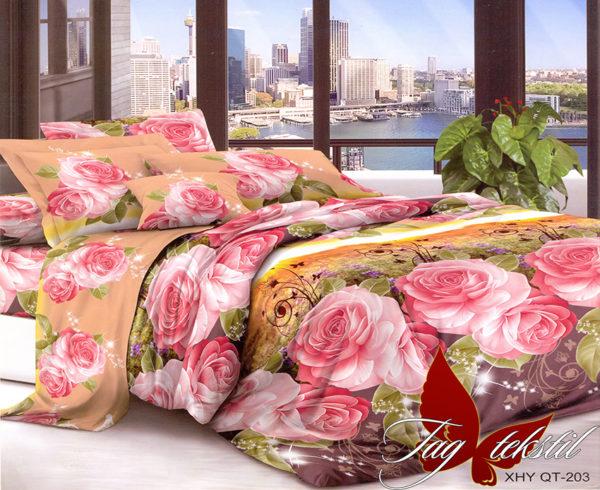 Комплект постельного белья XHY203  ПОСТЕЛЬНОЕ БЕЛЬЕ ТМ TAG > 2-спальные > Поликоттон 3D