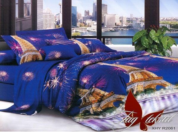 Комплект постельного белья XHY2061  ПОСТЕЛЬНОЕ БЕЛЬЕ ТМ TAG > 2-спальные > Поликоттон 3D