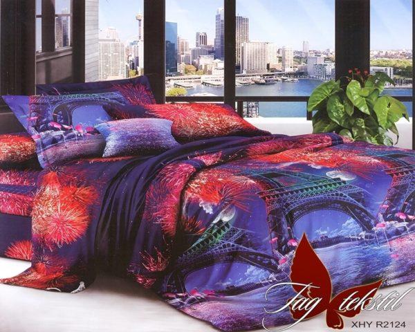 Комплект постельного белья XHY2124  ПОСТЕЛЬНОЕ БЕЛЬЕ ТМ TAG > 2-спальные > Поликоттон 3D