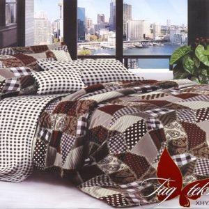Комплект постельного белья XHY2128  ПОСТЕЛЬНОЕ БЕЛЬЕ ТМ TAG > Семейные > Поликоттон 3D