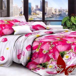 Комплект постельного белья XHY2155  ПОСТЕЛЬНОЕ БЕЛЬЕ ТМ TAG > Семейные > Поликоттон 3D